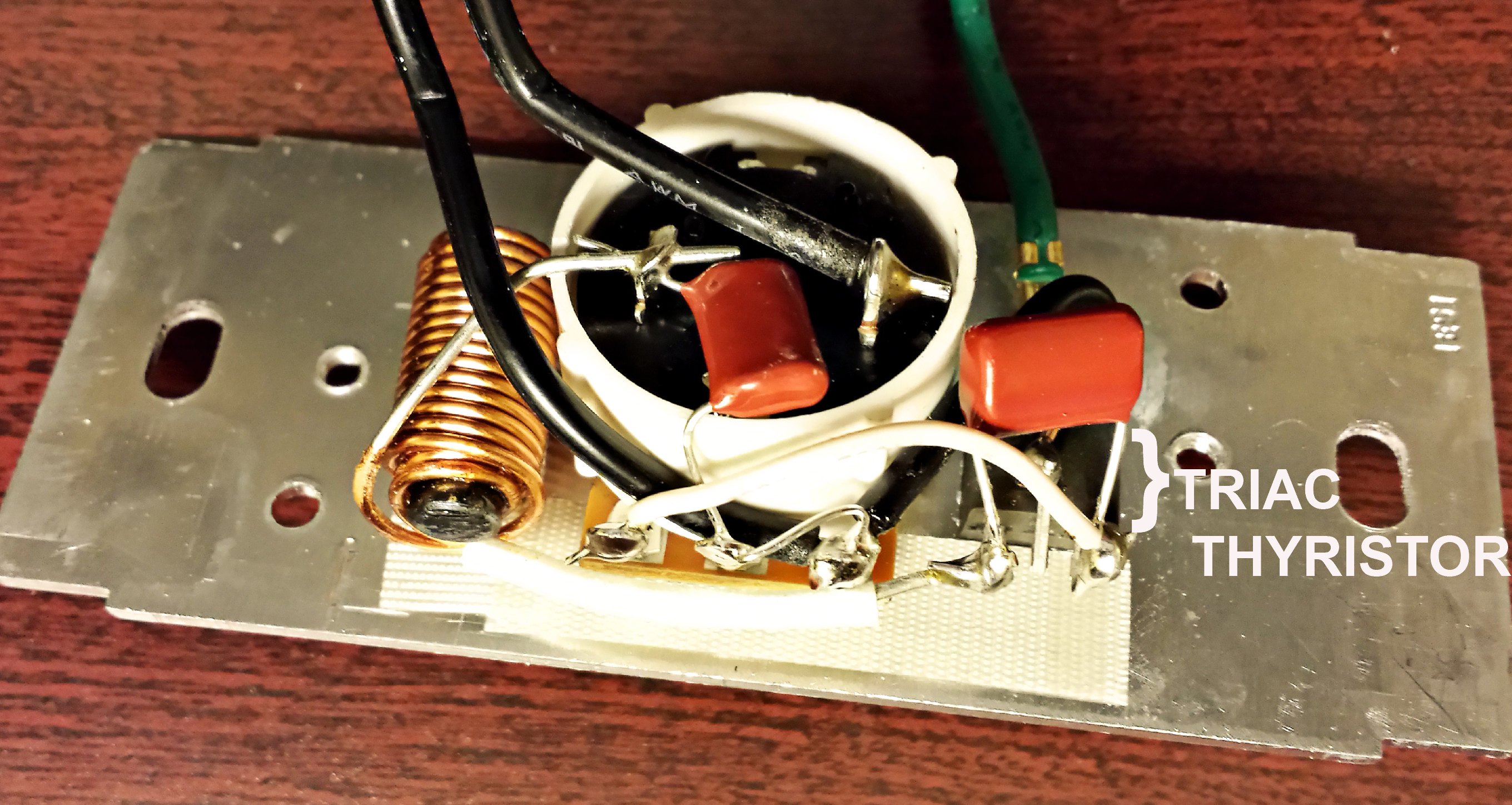 How Bright Is Your Light Part I Rebuilding The Nikon S Triac Based Lamp Dimmer Switch 02