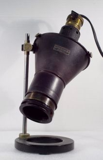 Antique Spencer light source